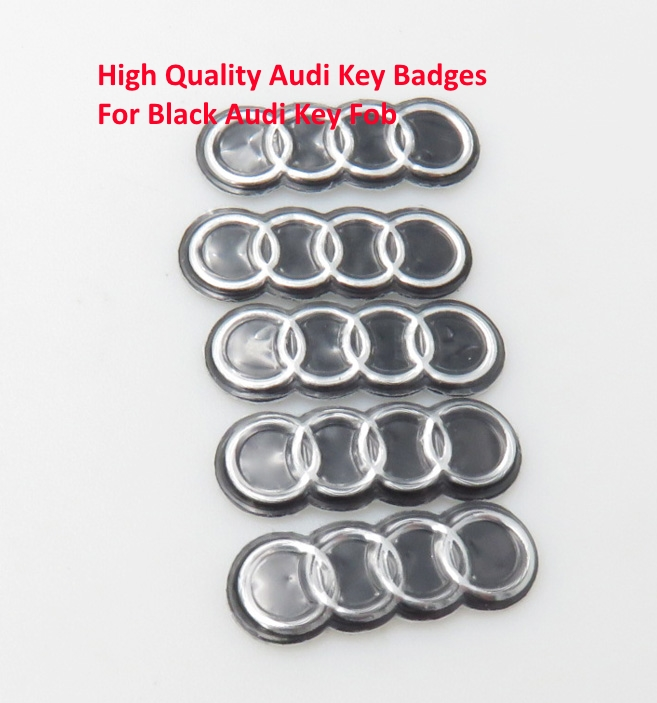 Badges Audi Car Remote Key Fob Logo Emblem Badge Stickers A A A - Audi car emblem